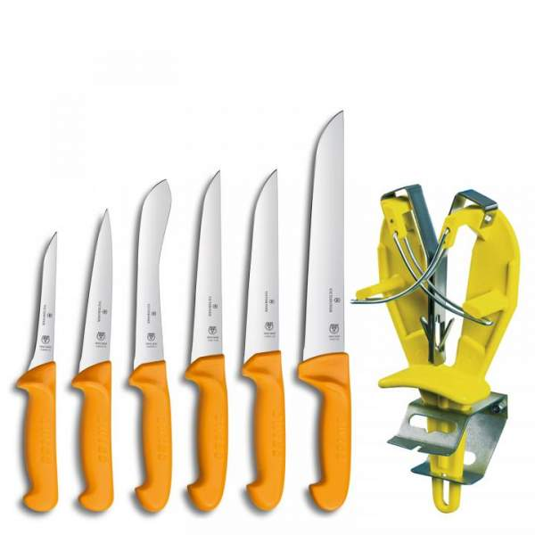 Swibo Messer-Set 6-teilig mit Sharp Easy 2.0018.9